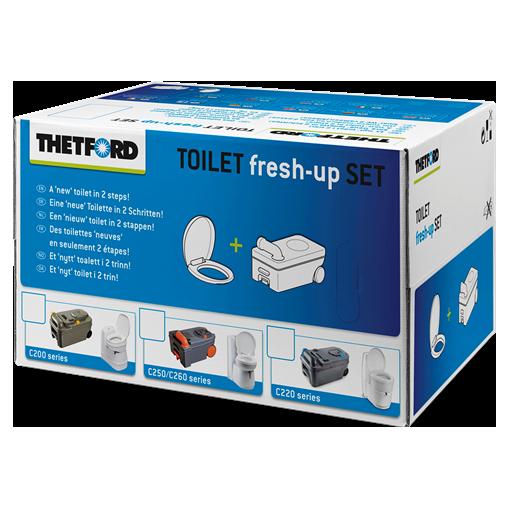 Thetford Toilet Fresh Up Kit for C2, C4, C200, C250, C260 and C400 toilets